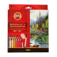 Leichtes /& tragbares Kunst-Set. 1 Pinsel 24 Schwenkfarben 1 Aquapinsel Mischpalette in einem Farbkasten Stationery Island K/ünstlerserie Aquarellfarben-Set